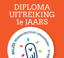 Baljee-Weekendschool-diplomauitreiking